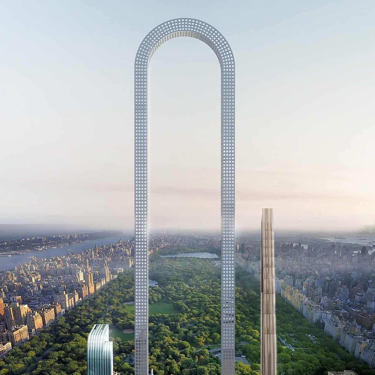 The extraordinary Big Bend condo concept for New York's billionaire's row, as conceptualised by Oiio studio