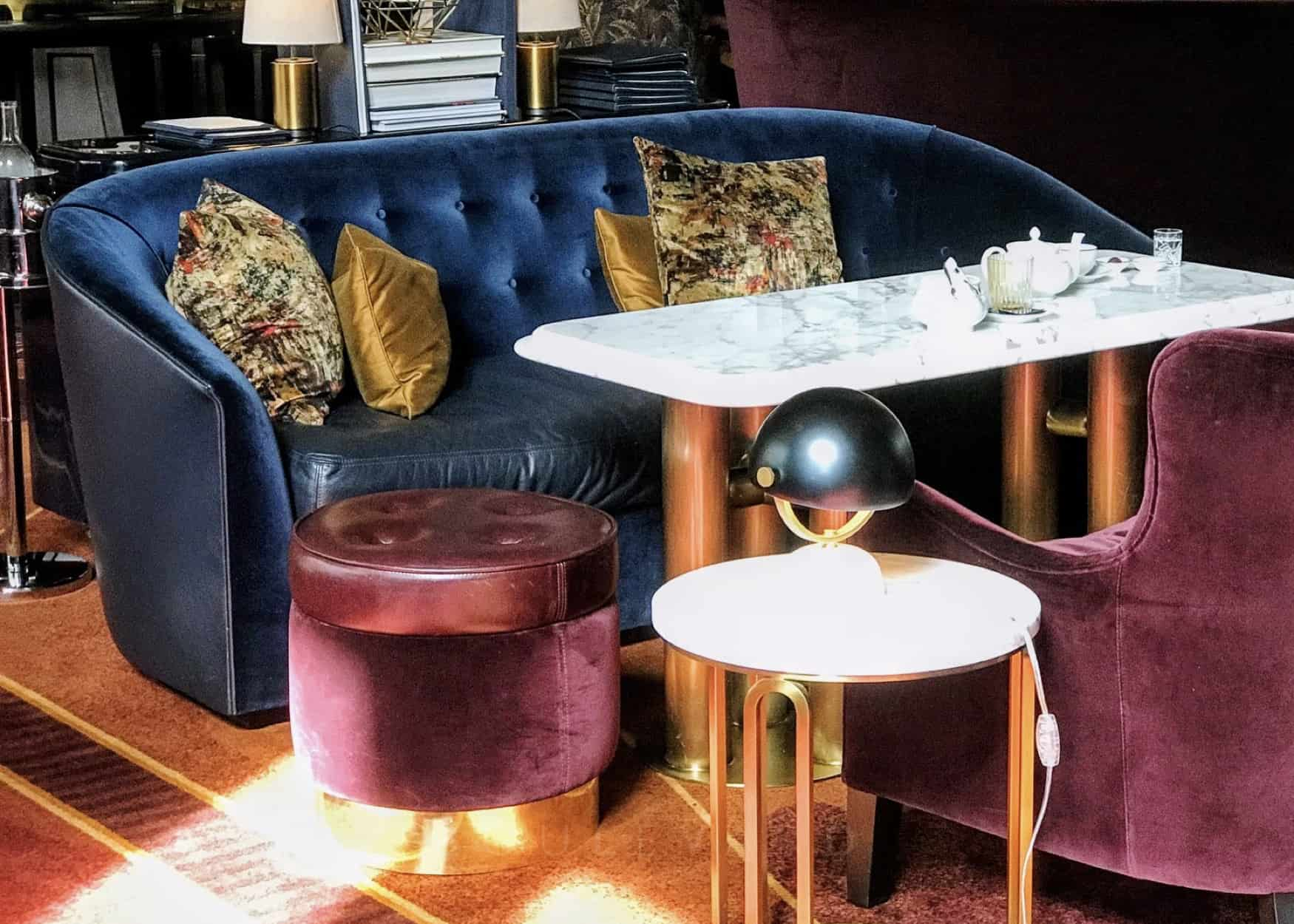 Art deco interiors: give us a decadent lounge dedicated to Atlas bar's style