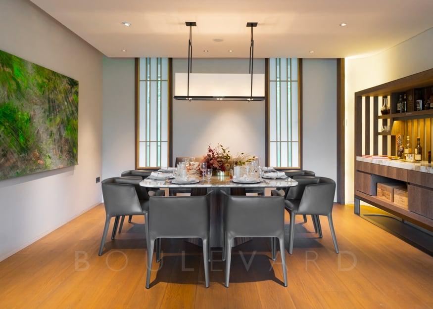 15 Holland Hill condo dining room